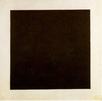 Kazimir Malevich, Black Square, 1913; oil on canvas; The State Tretyakov Gallery, Moscow