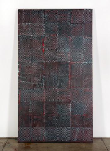 Skyler Brickley, Untitled, 2009; acrylic on canvas, 226 x 127 cm