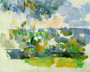 Paul Cezanne,  Garden at Les Lauves 