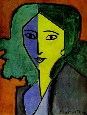 Henri Matisse, Portrait of L.N. Delekorskaya, 1947
